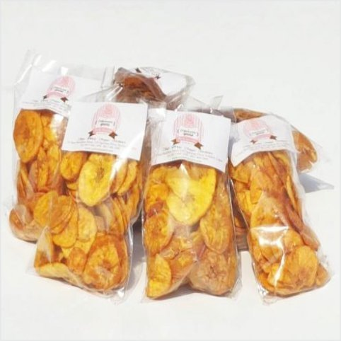 Confectionately Yours ~ Mrs da-Silva's Bakery ~ PLANTAIN CHIPS