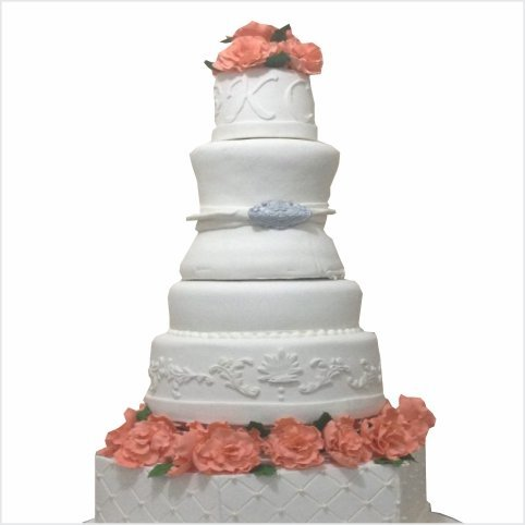 Confectionately Yours ~ Mrs da-Silva's Bakery ~ wedding cake 01