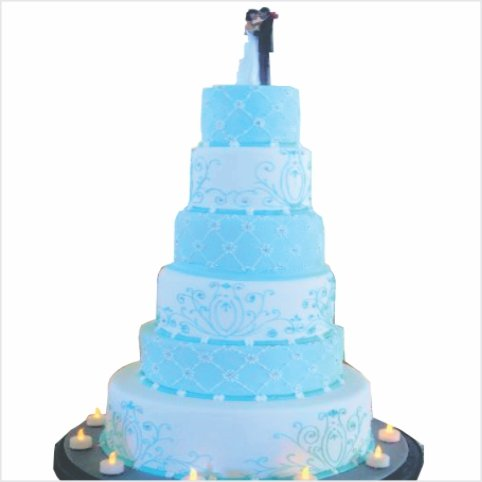 Confectionately Yours ~ Mrs da-Silva's Bakery ~ wedding cake 03