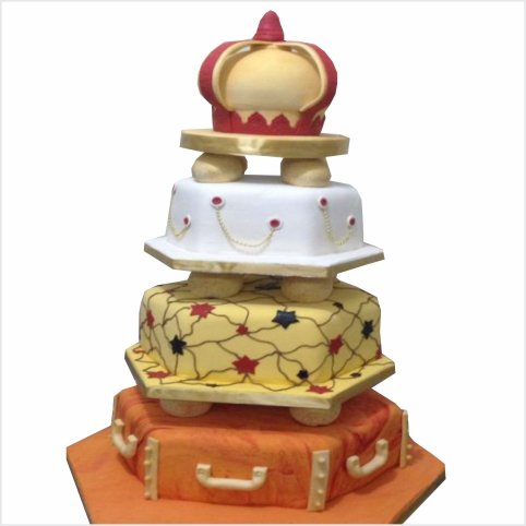 Confectionately Yours ~ Mrs da-Silva's Bakery ~ wedding cake 05