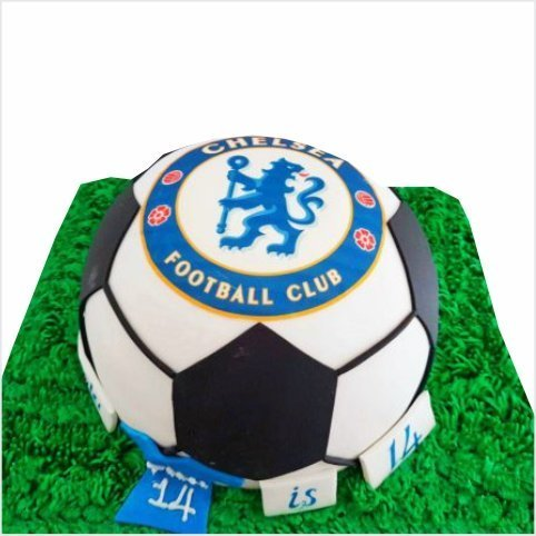Confectionately Yours ~ Mrs da-Silva's Bakery ~ Football cake